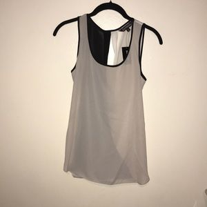 Express open back tank top Sz XS